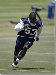 Dallas Cowboys LB Adrian Hamilton - The Boys Are Back blog