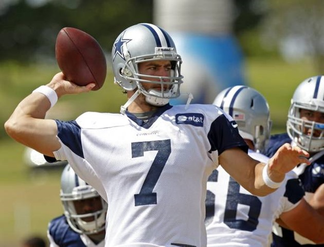 Dallas Cowboys QB Stephen McGee vs San Diego Chargers - Preseason 2012 - The Boys Are Back blog