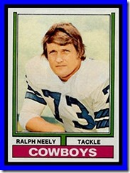 Dallas Cowboys Ralph Neely - The Boys Are Back blog