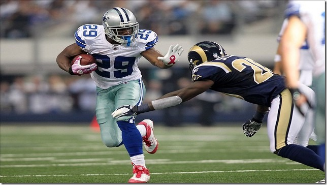 Dallas Cowboys RB DeMarco Murray vs St Louis Rams - The Boys Are Back blog