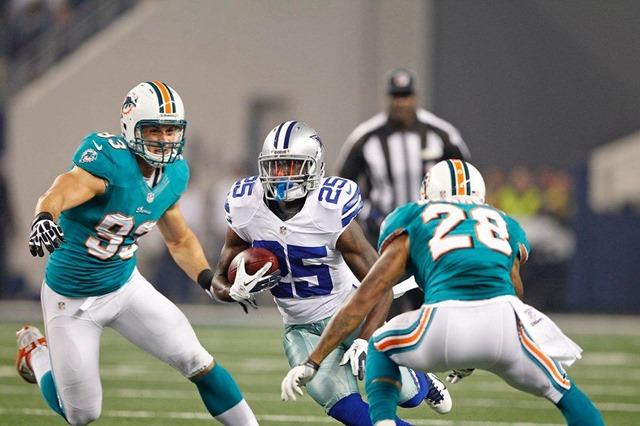 Dallas Cowboys running back Lance Dunbar vs Miami Dolphins - The Boys Are Back blog