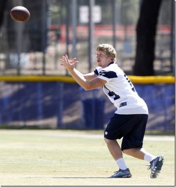 Dallas Cowboys wide receiver Cole Beasley (14) catches a pass - The Boys Are Back blog