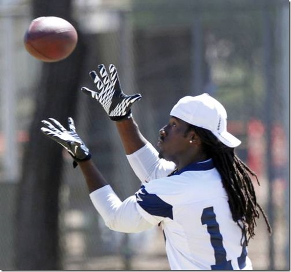 Dallas Cowboys wide receiver Dwayne Harris (17) catches a pass - The Boys Are Back blog