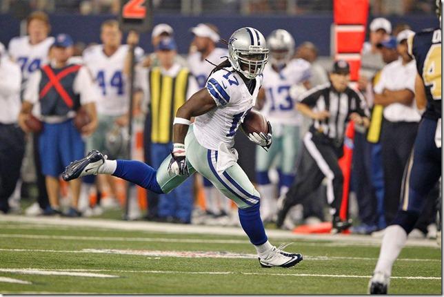 Dallas Cowboys WR Dwayne Harris vs St Louis Rams 2012 - The Boys Are Back blog