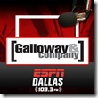 Galloway and Company - ESPN Dallas - 103 3 FM - The Boys Are Back blog