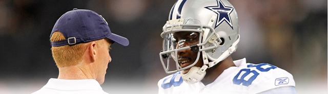 Jason Garrett and Dez Bryant - The Boys Are Back blog
