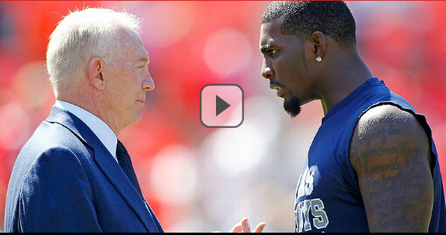 Jerry Jones and Dez Bryant - The Boys Are Back blog