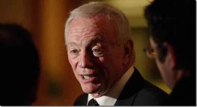 HOT SEAT: Jerry Jones sued by woman who burnt her buttocks