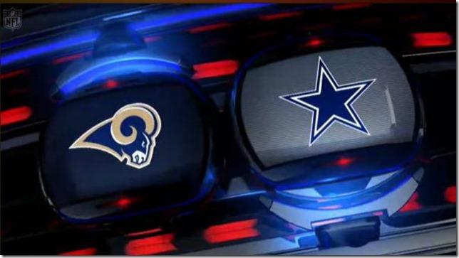 LOGO - St Louis Rams vs. Dallas Cowboys - The Boys Are Back blog