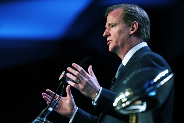 NFL Commissioner Roger Goodell - The Boys Are Back blog