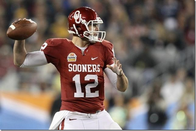 OU quarterback QB Landry Jones returning for senior season - The Boys Are Back blog