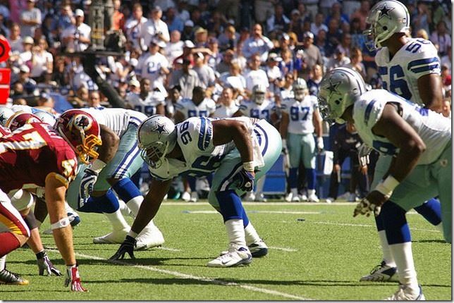 Dallas Cowboys DE Marcus Spears - The Boys Are Back blog