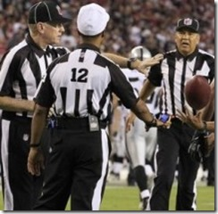 Replacement NFL Officials - The Boys Are Back blog