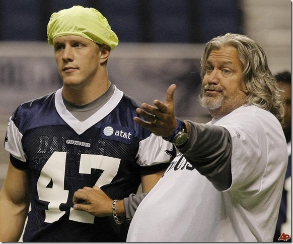 Alex Albright, a second-year pro who has been training at both inside and outside linebacker, led the Cowboys with tackles (9) while lining up at both positions in Rob Ryan defense - The Boys Are Back blog