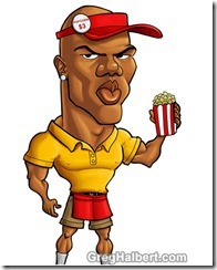 terrell-owens-popcorn-caricature - The Boys Are Back blog