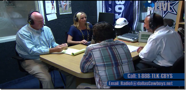 VIDEO Pop Out - Talkin Cowboys with Mickey Spagnola - Dallas Cowboys Radio Network - The Boys Are Back blog