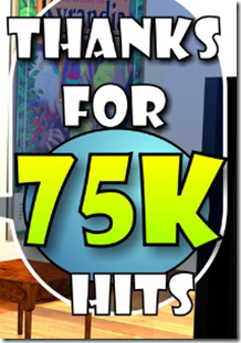 75000 hits - Thank you