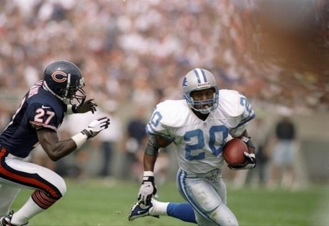 Barry Sanders rushed for over 2,000 yards in 1997 - The Boys Are Back blog