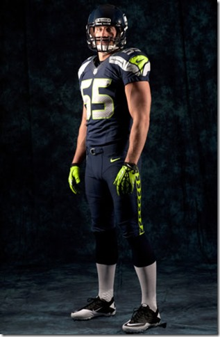 Beyond the flash, there are also some technological changes to the Seahawks uniforms - The Boys Are Back blog