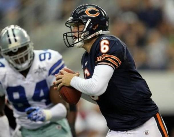 Chicago Bears quarterback Jay Cutler against DeMarcus Ware and the Dallas Cowboys defense - The Boys Are Back blog