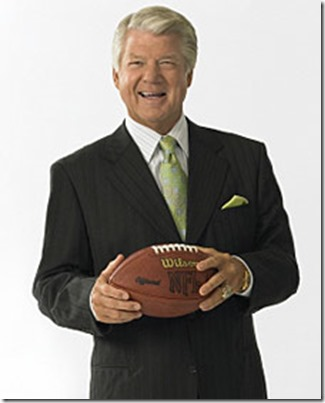 Dallas Cowboys former head coach Jimmy Johnson