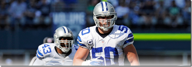 Dallas Cowboys LB Sean Lee - The Boys Are Back blog