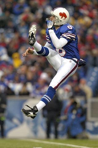 Dallas Cowboys punter Brian Moorman - former Buffalo Bills punter - The Boys Are Back blog