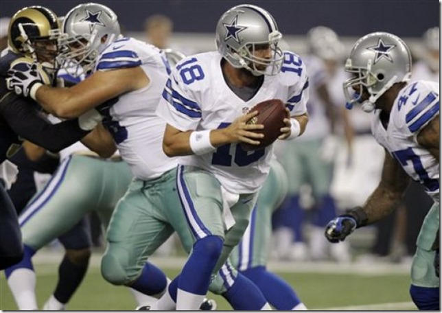 Dallas Cowboys QB Kyle Orton ready to step in at any moment - The Boys Are Back blog