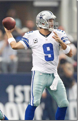 Dallas Cowboys QB Tony Romo vs Tampa Bay 2012 - The Boys Are back blog