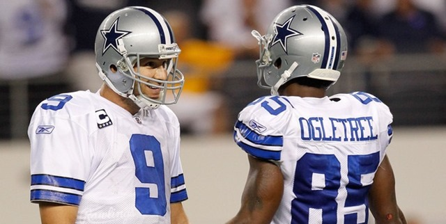 Dallas Cowboys Tony Romo and Kevin Ogletree - The Boys Are Back blog