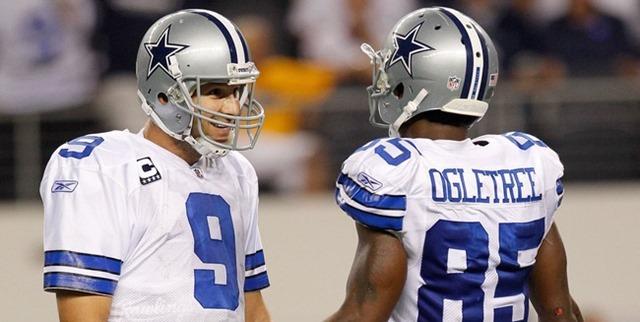 Dallas Cowboys Tony Romo and Kevin Ogletree - The Boys Are Back blog