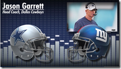 Dallas Cowboys vs. New York Giants - Jason Garrett - The Boys Are Back blog