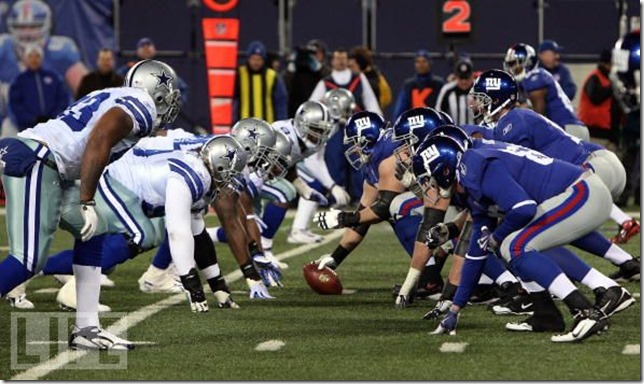 Dallas Cowboys vs New York Giants - The Boys Are Back blog
