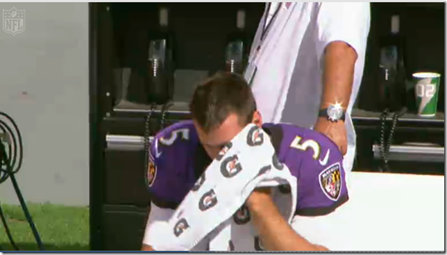 Flacco upset with replacement officials - The Boys Are Back blog