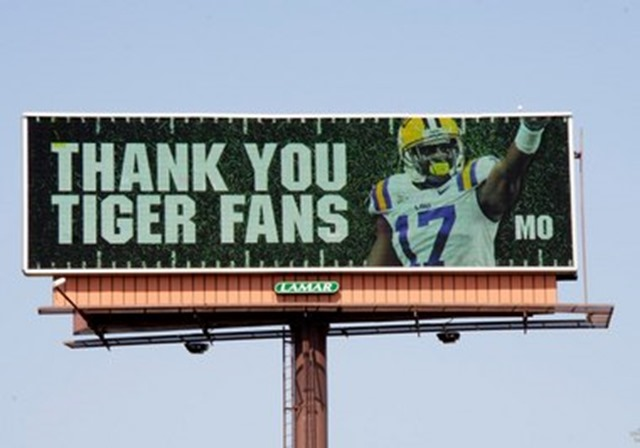 Former Tiger and current Dallas Cowboy cornerback Morris Claiborne will be LSU's guest captain Saturday night when the Tigers play Washington - The Boys Are Back blog