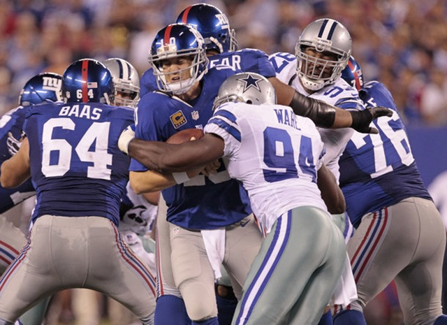 GAME BALLS - Dallas Cowboys vs New York Giants - The Boys Are Back blog