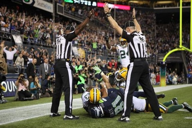Green Bay Packers vs Seattle Seahawks game-ending call sparks outrage - The Boys Are Back blog