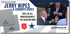 Jerry Wipes - Proceeds go to the Salvation Army - The Boys Are Back blog