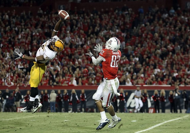 LeQuan Lewis played both cornerback and wideout at Arizona State - The Boys Are Back blog