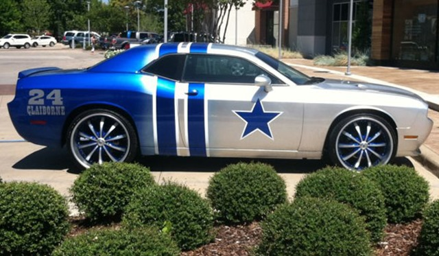 Morris Claiborne Dallas Cowboy car - The Boys Are Back blog