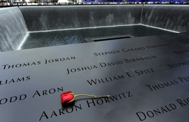 Names on the WTC National 9-11 Memorial in New York City - The Boys Are Back blog