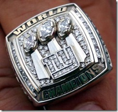 New York Giants Super Bowl XLII Ring - The Boys Are Back blog