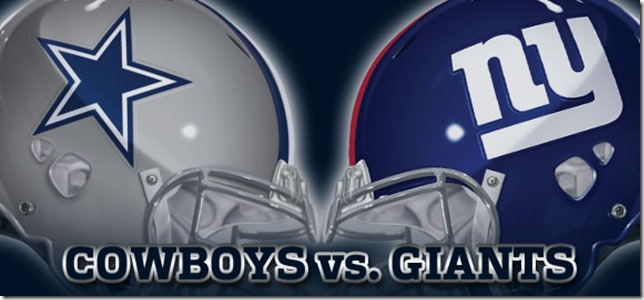 New York Giants vs. Dallas Cowboys - NFC East Rivals - The Boys Are Back blog