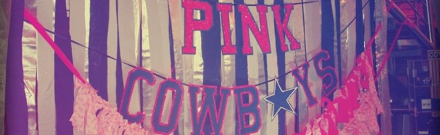 Pink Cowboys - The Boys Are Back blog