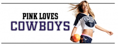 Pink loves the Cowboys - The Boys Are Back blog