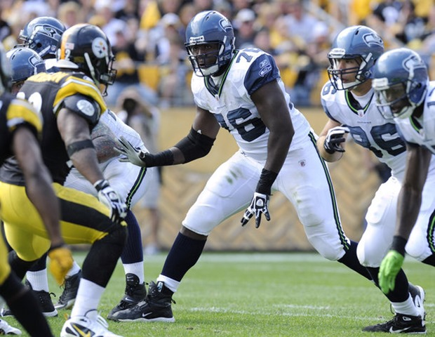 Seahawks left tackle Russell Okung will have the challenge of taking on Cowboys defensive end DeMarcus Ware - The Boys Are Back blog