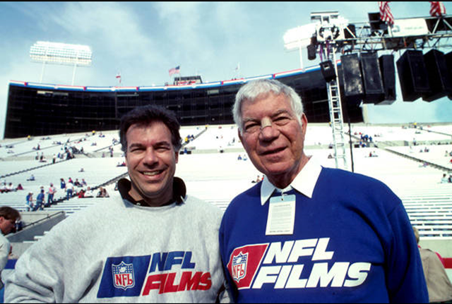 Steve and Ed Sabol - NFL Films - The Boys Are Back blog