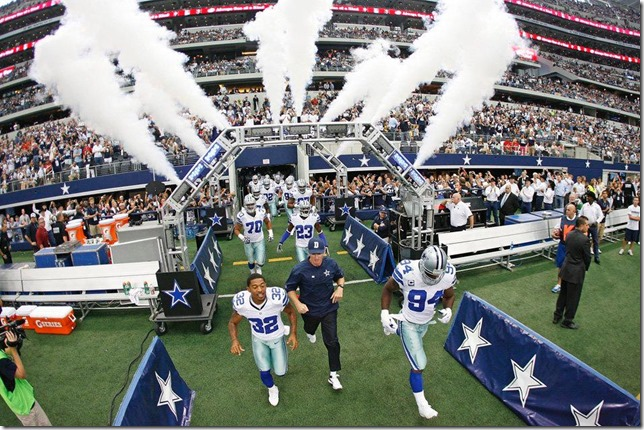 The Dallas Cowboys host the Tampa Bay Buccaneers at Cowboys Stadium 2012 - The Boys Are Back blog