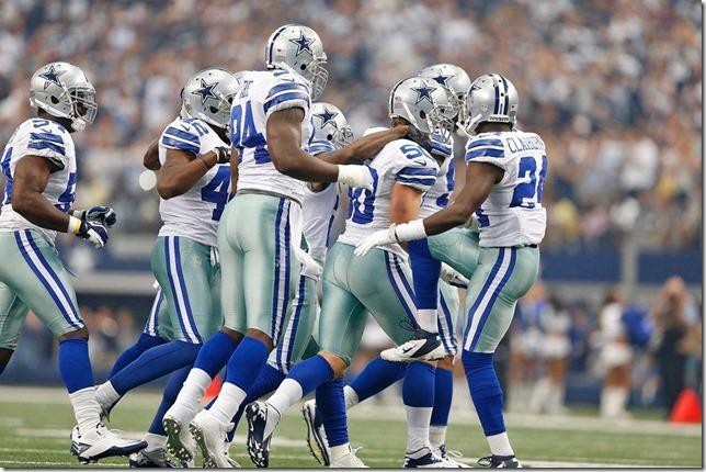 The Dallas Cowboys vs Tampa Bay Buccaneers at Cowboys Stadium 2012 - Rob Ryan's defense comes up big - The Boys Are Back blog