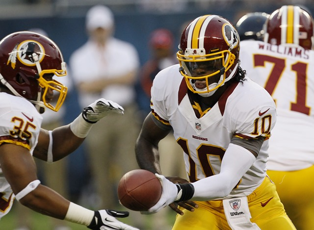 Washington Redskins rookie QB Robert Griffin III - The Boys Are Back blog